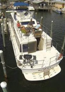 Image of our Aqua Home Charter Boat
