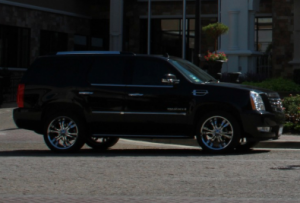 Image of the Escalade from the side